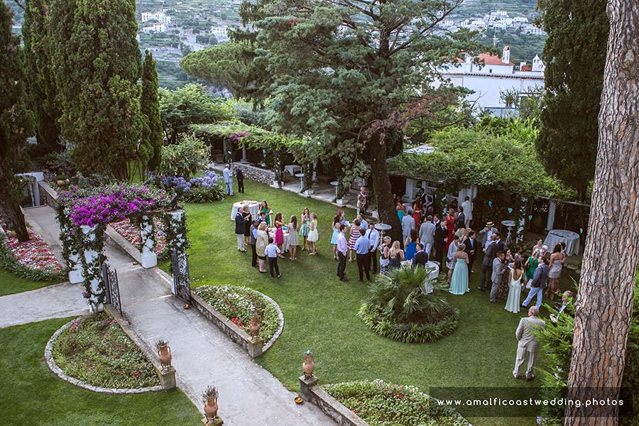 Ravello Wedding Photographer The Exclusive Villa Eva