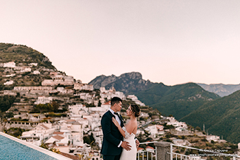 wedding reportage on the Amalfi Coast