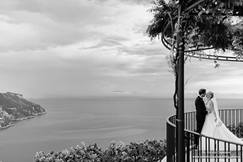 wedding photos on the Amalfi Coast