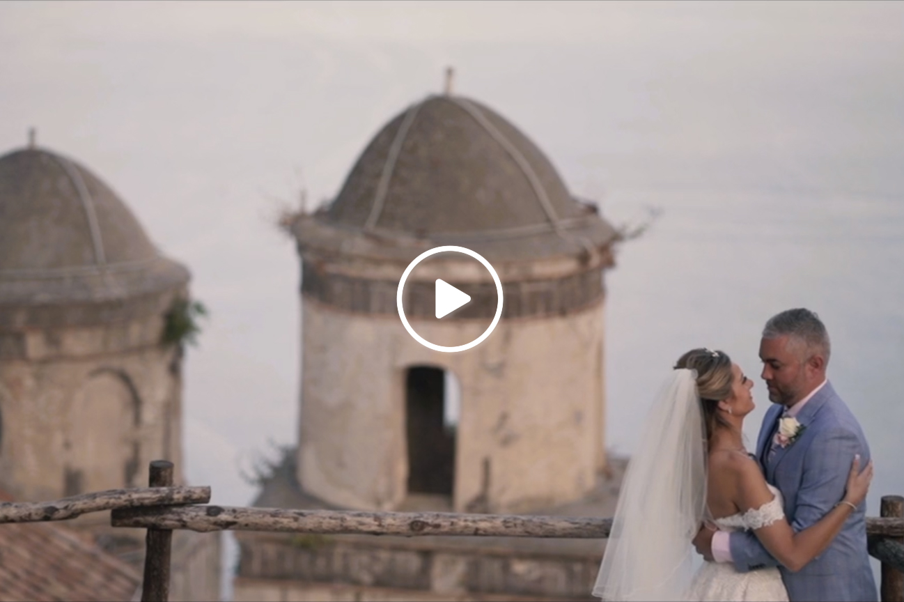 wedding video on the Amalfi Coast